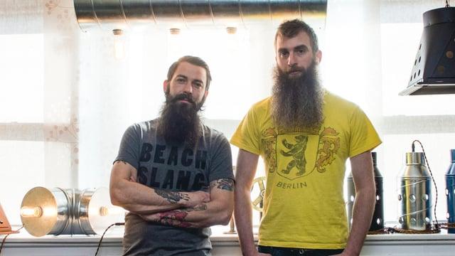 Aaron Novak and Glenn Miller Whiskertin Lighting